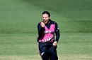 Lea Tahuhu celebrates a wicket, Australia v New Zealand, 1st T20I, Brisbane, September 26, 2020
