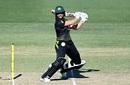 Ashleigh Gardner carves the ball through the off side, Australia v New Zealand, 1st T20I, Brisbane, September 26, 2020