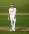 Craig Overton shows his frustration, Somerset vs Essex, Bob Willis Trophy final, 4th day, Lord's, September 26, 2020