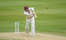 Craig Overton was looking to extend Somerset's lead on the last day, Somerset vs Essex, Bob Willis Trophy final, 5th day, Lord's, September 27, 2020