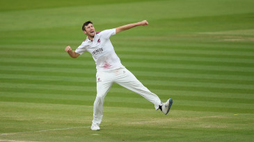 Craig Overton punches the air