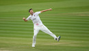 Craig Overton punches the air, Somerset vs Essex, Bob Willis Trophy final, 5th day, Lord's, September 27, 2020