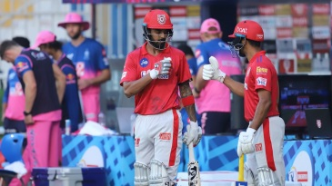 KL Rahul and Mayank Agarwal gave Kings XI a strong start