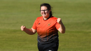 Charlotte Taylor ripped through the Diamonds middle-order