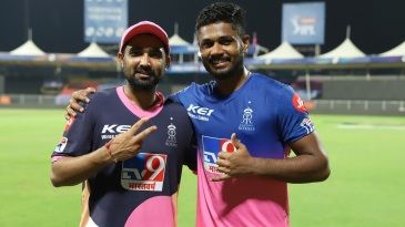 Rahul Tewatia and Sanju Samon were the heroes for Rajasthan Royals