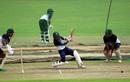 Mushfiqur Rahim bats during net practice, Dhaka, September 24, 2020