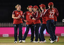 Katherine Brunt claims an early wicket for England, England vs West Indies, 4th T20I, Derby, September 28, 2020