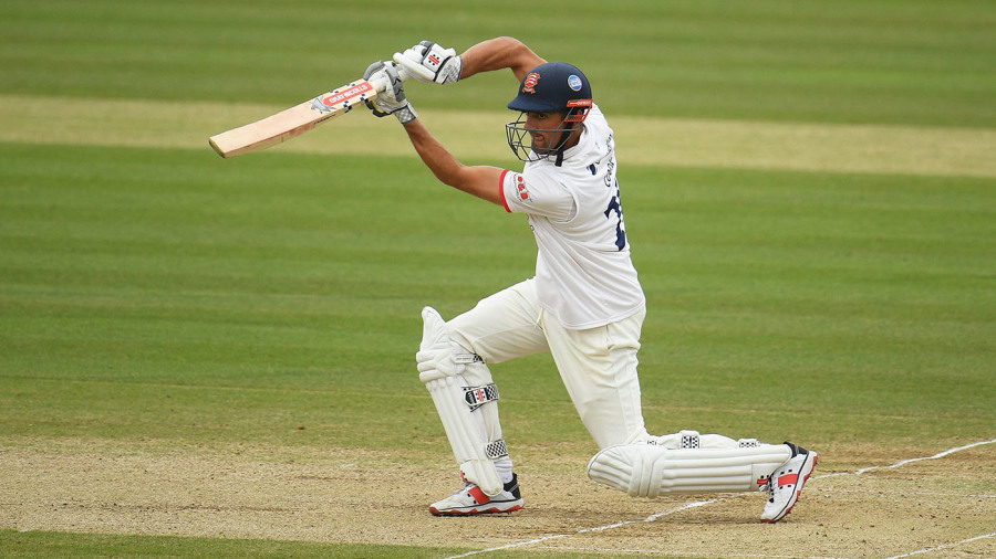 Alastair Cook unfurls his lesser-spotted cover drive