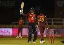 Amy Jones celebrates reaching her half-century, England vs West Indies, 4th T20I, Derby, September 28, 2020