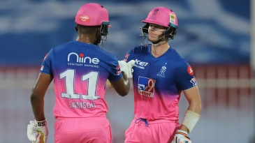 Sanju Samson and Steven Smith have fired at the top for Rajasthan Royals