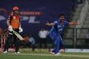Amit Mishra removed David Warner to boost the Delhi Capitals, Delhi Capitals v Sunrisers Hyderabad, IPL 2020, Abu Dhabi, September 29, 2020
