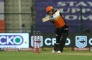 Johnny Bairstow drives on the up, Delhi Capitals v Sunrisers Hyderabad, IPL 2020, Abu Dhabi, September 29, 2020