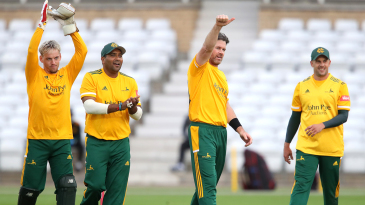 Tom Moores (24), Samit Patel (35), Dan Christian (37) and Steven Mullaney (33) have impressed for Notts this season
