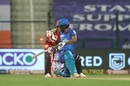 Shikhar Dhawan was caught behind for 34 off 31 balls, Delhi Capitals v Sunrisers Hyderabad, IPL 2020, Abu Dhabi, September 29, 2020