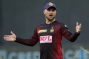 Brendon McCullum leads Kolkata Knight Riders' warm-up session, Rajasthan Royals v Kolkata Knight Riders, IPL 2020, Dubai, September 30, 2020
