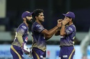 Shivam Mavi took two wickets in his first spell, Rajasthan Royals v Kolkata Knight Riders, IPL 2020, Dubai, September 30, 2020
