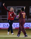 Sophie Ecclestone claims the wicket of Chedean Nation, England Women vs West Indies Women, 5th T20I, Derby September 30, 2020