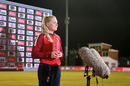 Allrounder Sarah Glenn was named player of the series, England Women vs West Indies Women, 5th T20I, Derby September 30, 2020