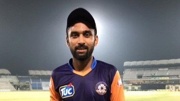 Abdullah Shafique was the Man of the Match for an unbeaten 102 from just 58 balls