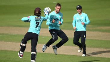Will Jacks claimed four wickets to sink Kent in the quarter-final