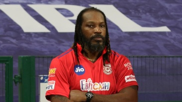 A bout of food poisoning kept Gayle out of the game against the Sunrisers Hyderabad