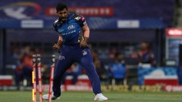 Jasprit Bumrah is ecstatic after bowling Mayank Agarwal