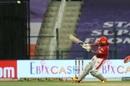 Sarfaraz Khan attempts the reverse-scoop, Kings XI Punjab vs Mumbai Indians, Abu Dhabi, October 1, 2020
