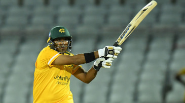 Samit Patel was the hero for Notts' chase