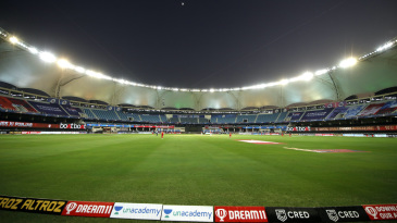 Ring of fire: The Dubai International Stadium lights have created significant blind spots for fielders looking to catch skied balls