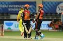 Priyam Garg and Abhishek Sharma put together a 77-run partnership, Chennai Super Kings v Sunrisers Hyderabad, IPL 2020, Dubai, October 2, 2020