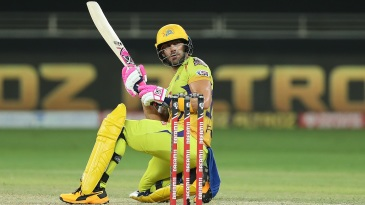 Faf du Plessis was steady at the top for Chennai Super Kings
