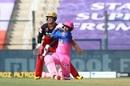 Mahipal Lomror goes on the attack, Royal Challengers Bangalore v Rajasthan Royals, IPL 2020, Abu Dhabi, October 3, 2020
