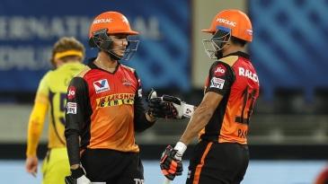 Priyam Garg and Abhishek Sharma put on a game-changing partnership against Chennai Super Kings