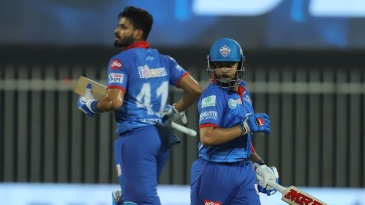 Prithvi Shaw and Shreyas Iyer added 73 runs for the second wicket