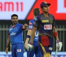 Amit Mishra took the big wicket of Shubman Gill, Delhi Capitals vs Kolkata Knight Riders, IPL 2020, Sharjah, October 3, 2020