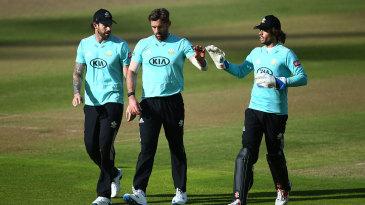 Liam Plunkett claimed three key wickets in the semi-final