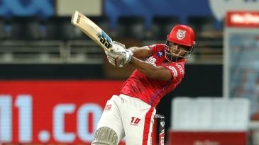 Nicholas Pooran provided impetus to the Kings XI Punjab innings
