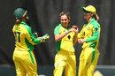 Sophie Molineux broke the opening stand, Australia v New Zealand, 2nd women's ODI, Brisbane, October 5, 2020