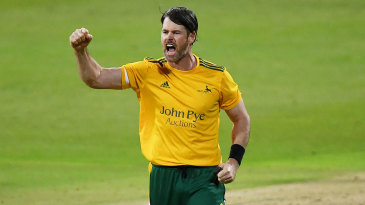 Dan Christian was Player of the Match in Nottinghamshire's semi-final and final