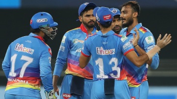 Axar Patel struck with the new ball once again