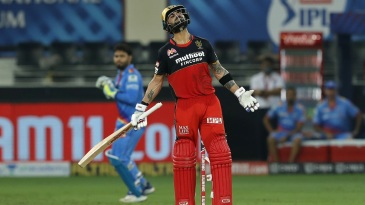 Virat Kohli vents his pent-up frustration