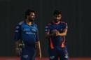 Zaheer Khan and Jasprit Bumrah have a chat , Mumbai Indians vs Rajasthan Royals, IPL 2020, Abu Dhabi, October 6, 2020