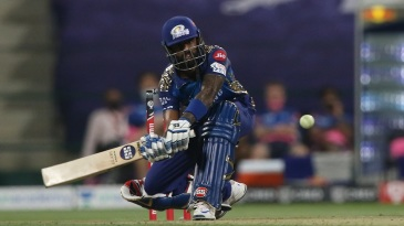 Suryakumar Yadav's 79* included 37 runs in the 'V' behind the stumps