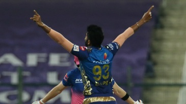 Jasprit Bumrah sent back Steven Smith in his first over