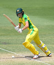 Annabel Sutherland batted at No. 3 in the absence of Meg Lanning, Australia v New Zealand, 3rd women's ODI, Allan Border Field, October 7, 2020