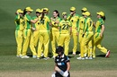 Megan Schutt dismissed both Sophie Devine and Amelia Kerr first ball, Australia v New Zealand, 3rd women's ODI, Allan Border Field, October 7, 2020