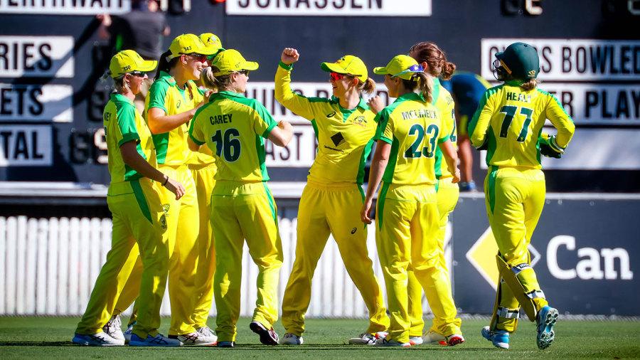 Australia ran through New Zealand to finish the series in style