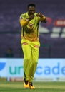 Dwayne Bravo picked up three wickets in the final over, Kolkata Knight Riders vs Chennai Super Kings, IPL 2020, Abu Dhabi, October 7, 2020