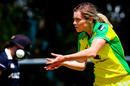 Sophie Molineux catches the ball, Australia v New Zealand, 1st women's ODI, Brisbane, October 3, 2020
