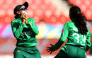 Umaima Sohail takes a catch, South Africa v Pakistan, Women's T20 World Cup, Group B, Sydney, March 1, 2020